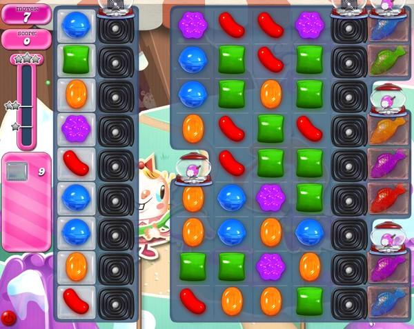Tips and Walkthrough: Candy Crush Level 2039