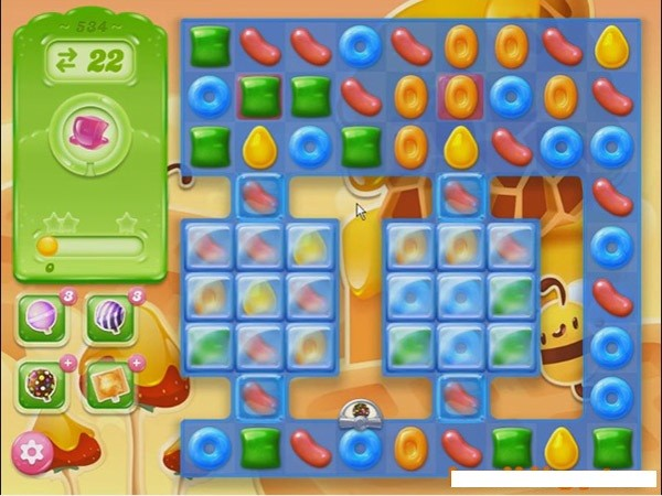 how to play candy crush jelly level 11