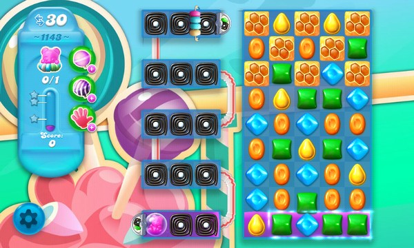 How to bet level 1143 candy crush