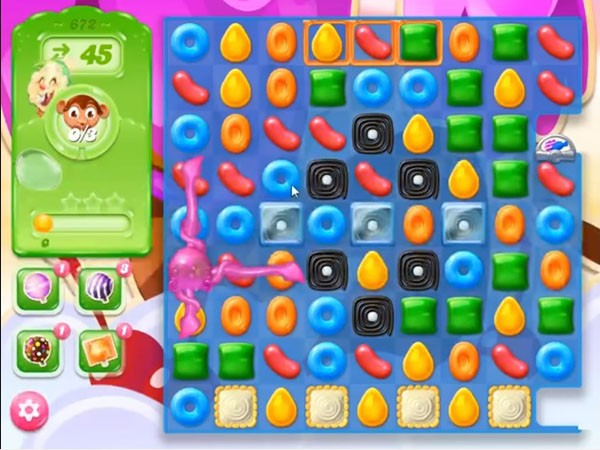 how to break jelly in candy crush