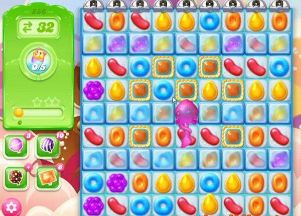 how to play candy crush jelly level