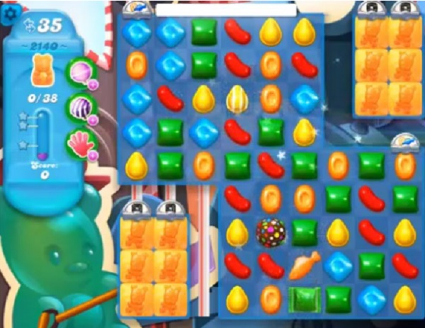 tips and walkthrough: candy crush soda level 2140