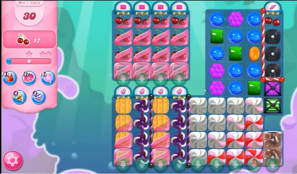 Tips And Walkthrough Candy Crush Level 7955